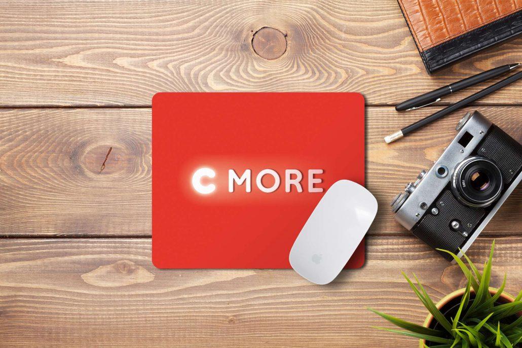 C More - mussemåtte