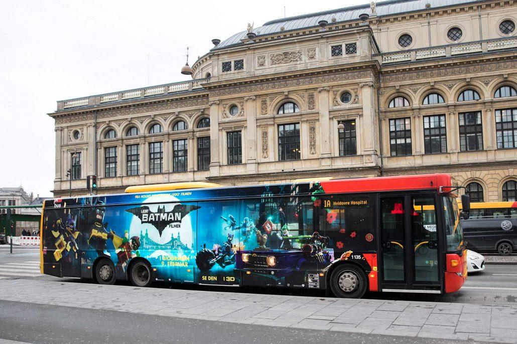 Lego Batman Filmen - Busfoliering