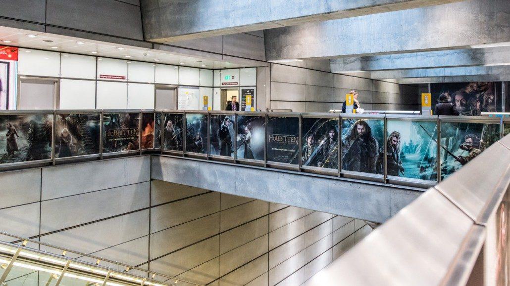 Hobbitten 2 - Foliering af Metro