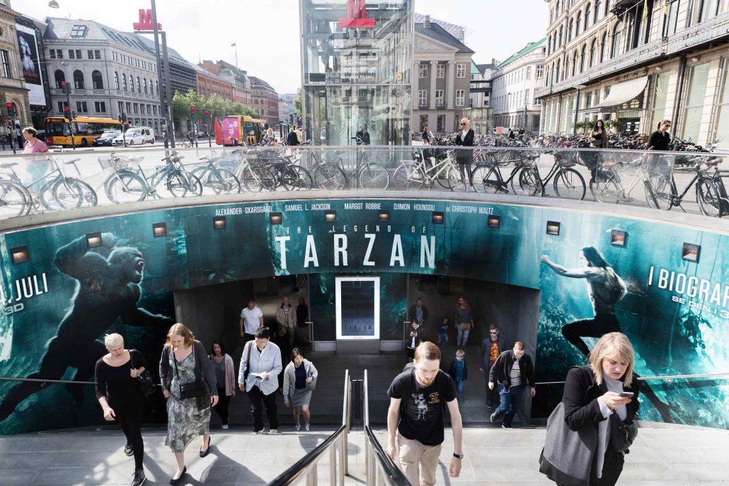 Tarzan - Metrofoliering