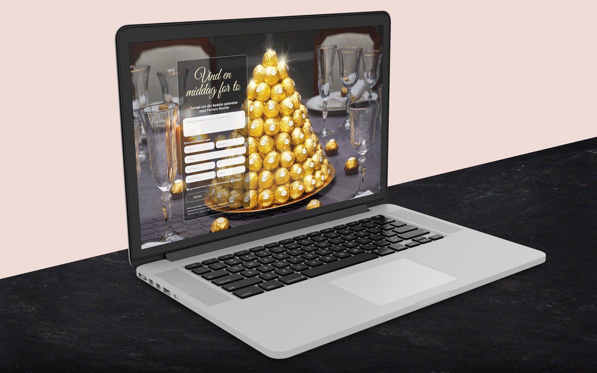 Ferrero website